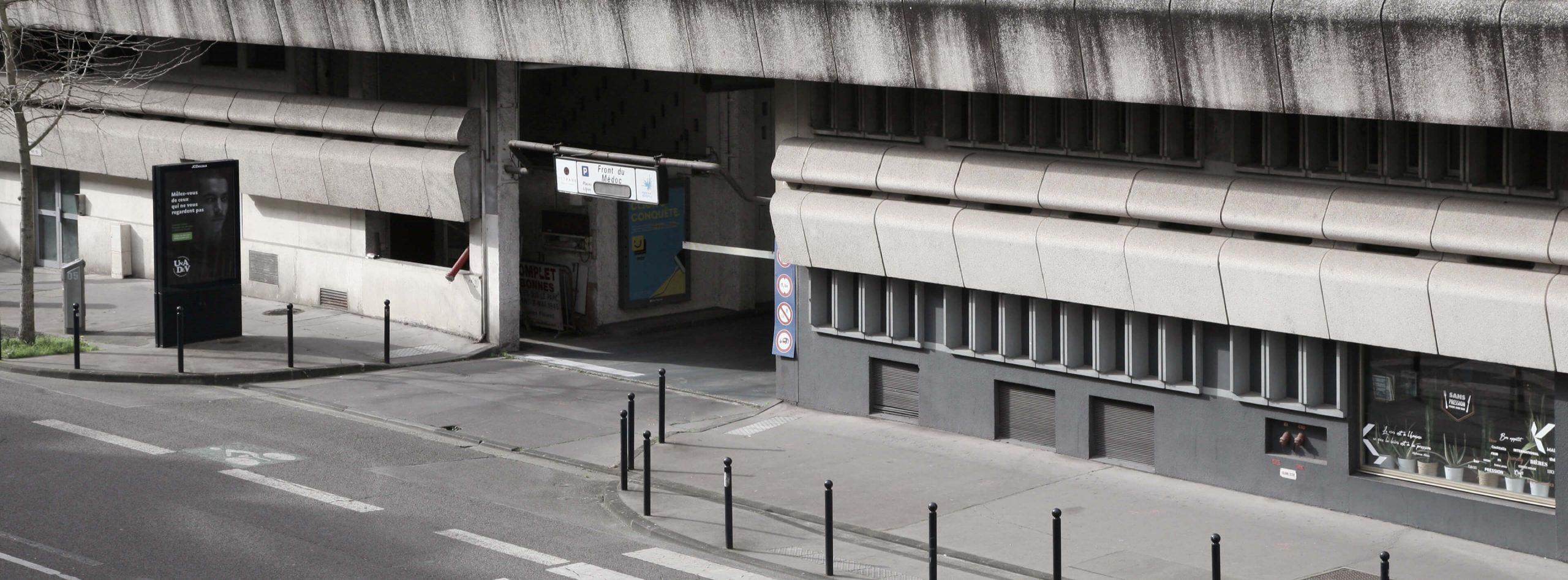 Parking Front du Médoc à Meriadeck
