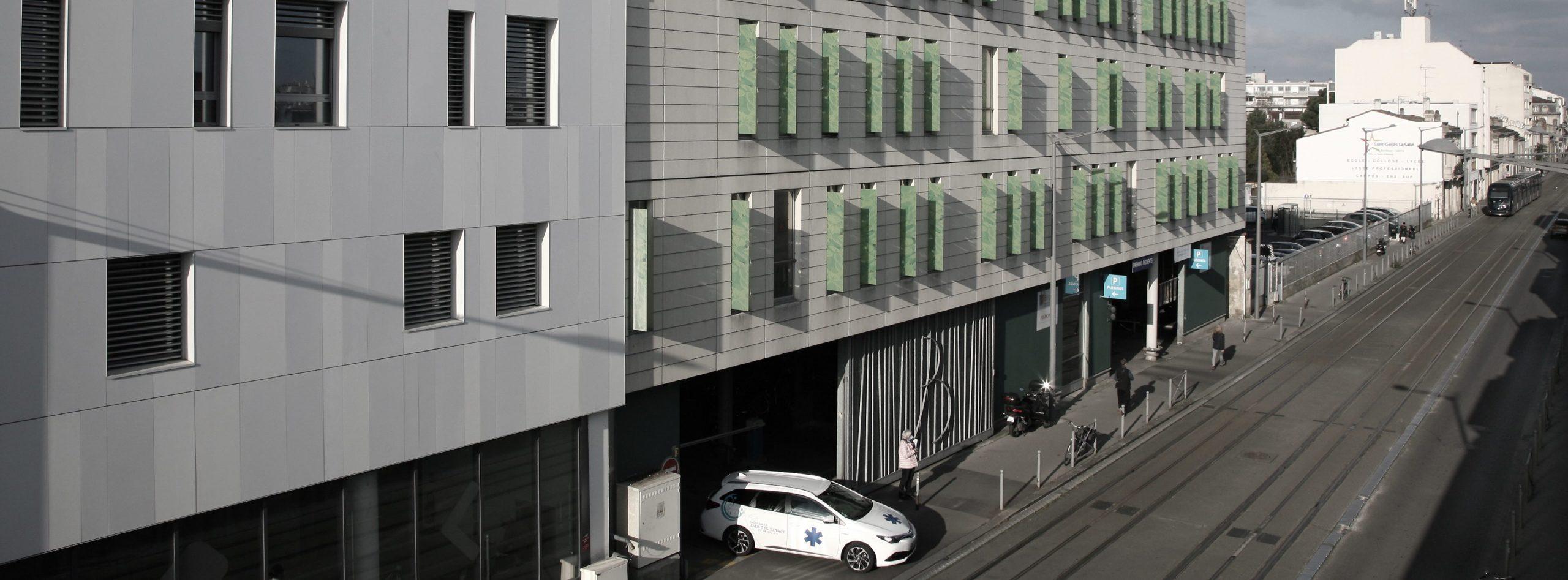 Le parking METPARK Bergonié à Bordeaux est situé au pied de l'Institut Bergonié, à quelques minutes de la place de la Victoire.