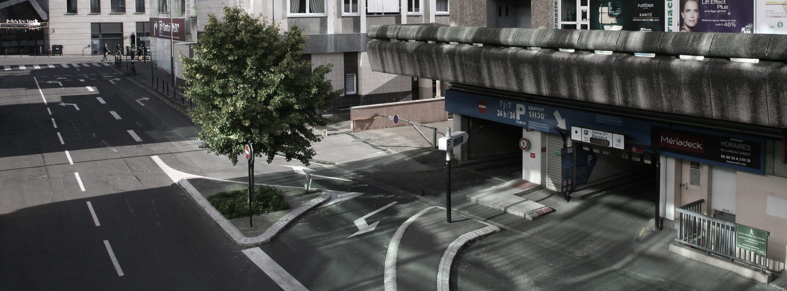 Parking METPARK Centre Commercial Meriadeck à Bordeaux