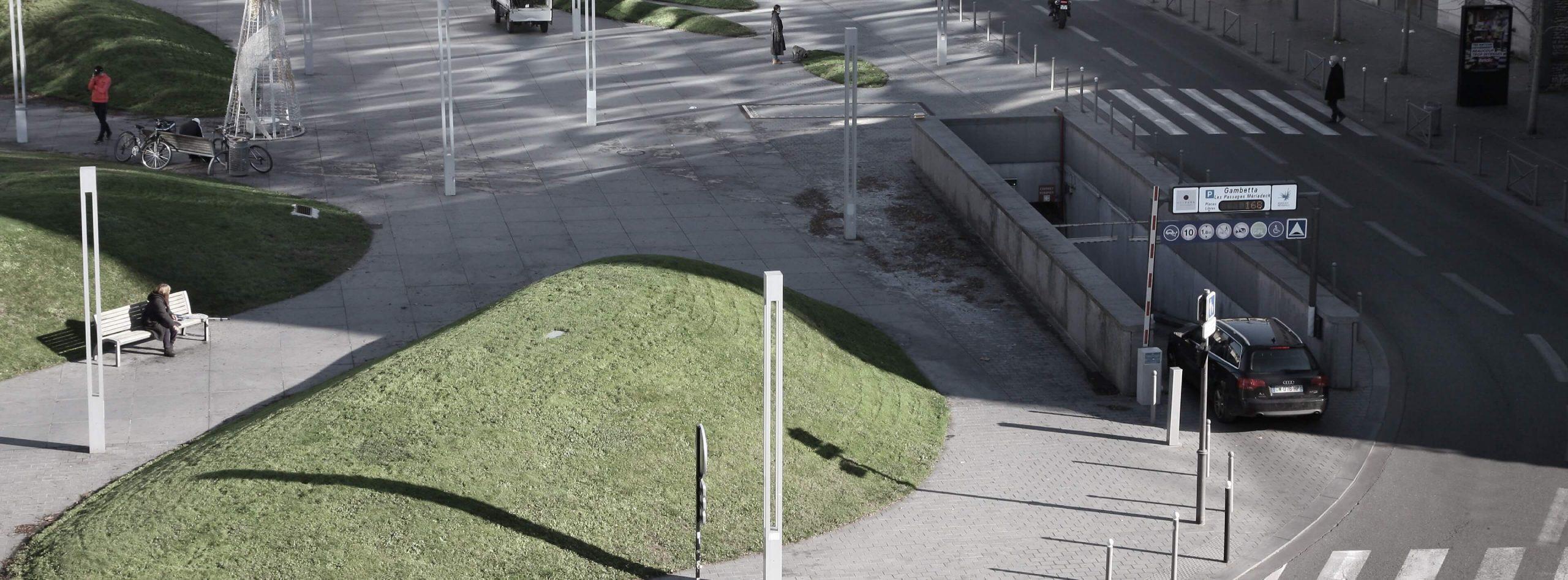 Parking à Gambetta Bordeaux Centre Metpark