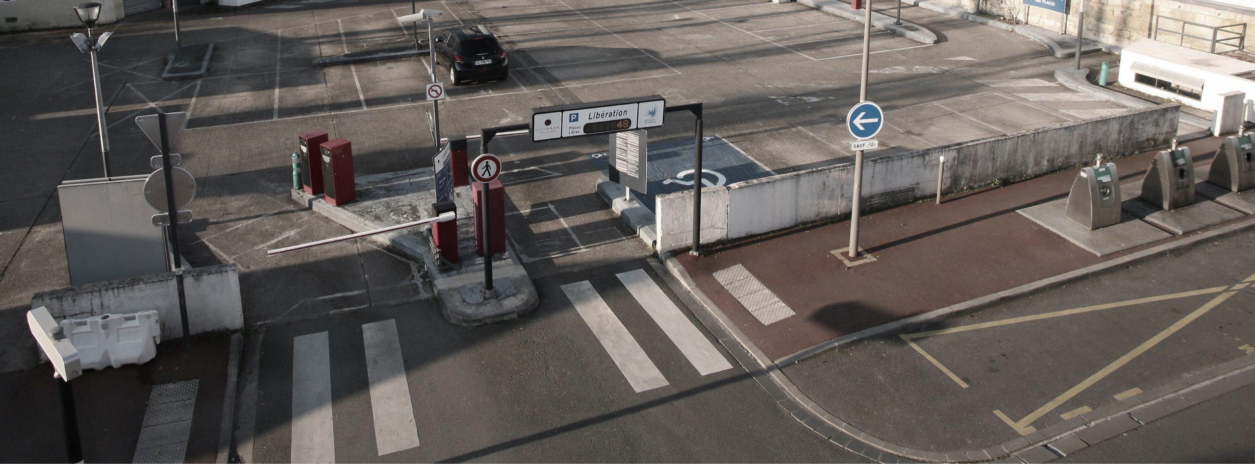 Garez-vous au parking Libération METPARK au Bouscat proche de la barrière du Bouscat. Bon plan parking pour aller dans Bordeaux par le tramway D.